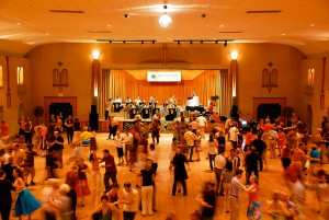 It's a dream to be able to perform with my band at Glen Echo's Spanish Ballroom