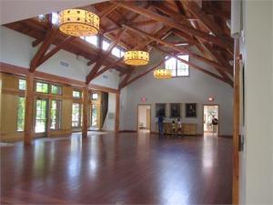 The dance floor at Duke Gardens is amazing!